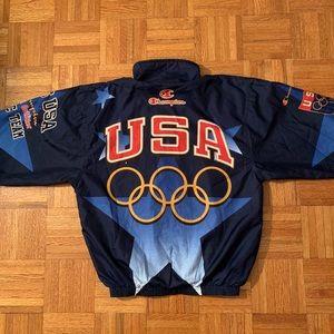 VTG 1996 Atlanta Olympics USA Warm-up Jacket